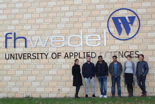 Erster Jahrgang des internationalen Studiengangs IT-Engineering